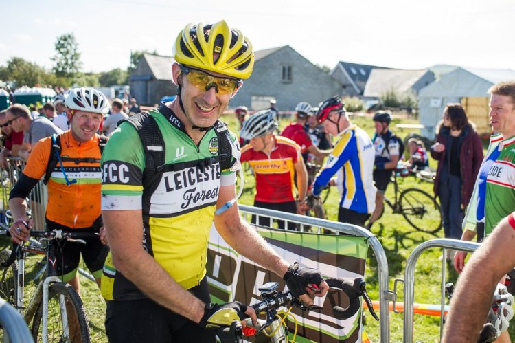 Andy Ward gets his game face on before the race. © Jack Chevell / www.jackchevell.com
