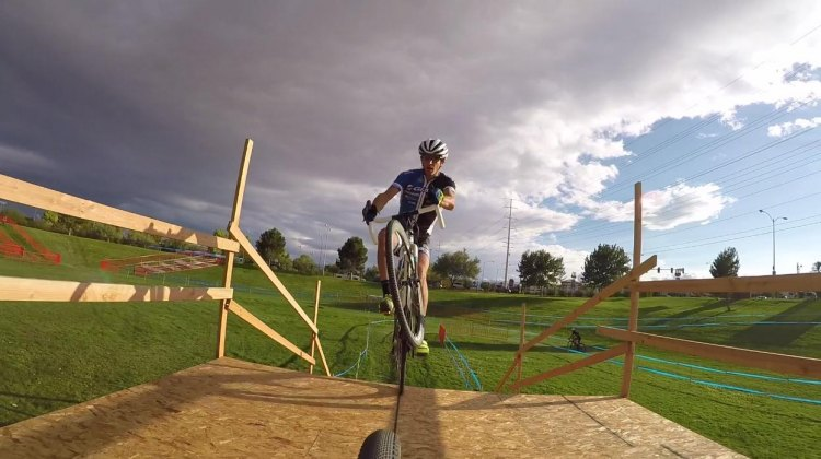 Adam Craig takes Cyclocross Magazine readers on a tour of the 2015 Cross Vegas World Cup cyclocross course.