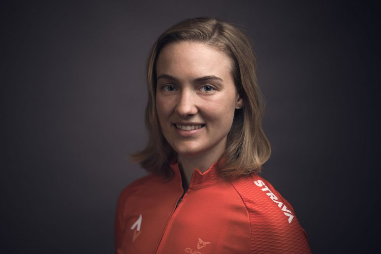 Elle Anderson to ride for her own program, sponsored in part by Strava and SRAM. photo: Jason Perry