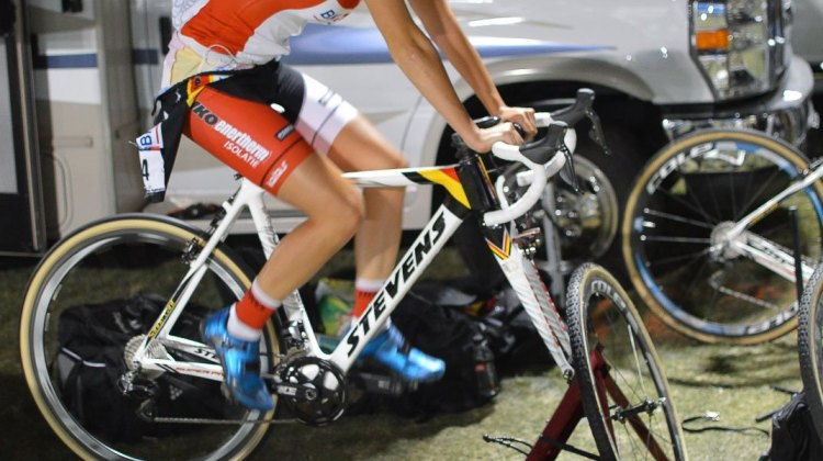 Feedback Sports Omnium Trainer. © Clifford Lee / Cyclocross Magazine