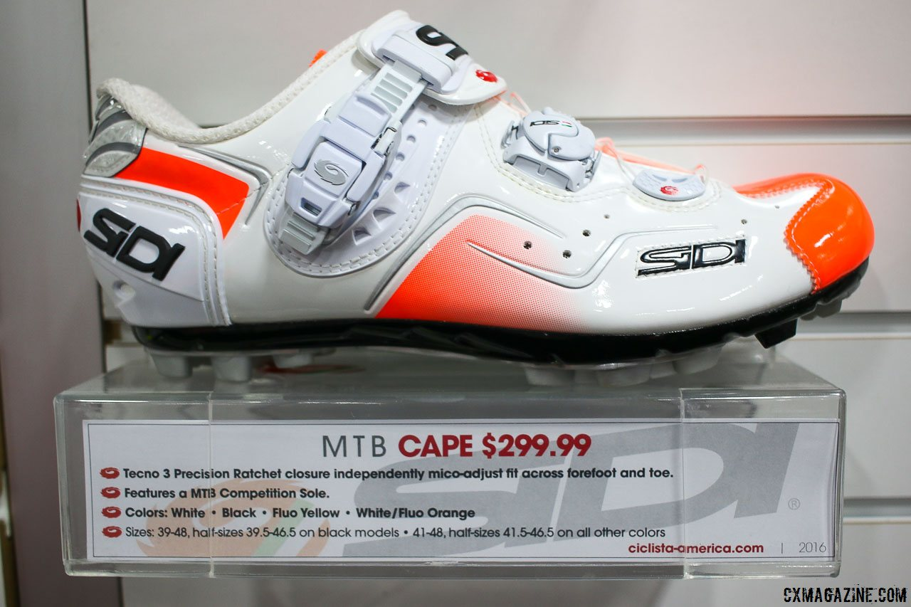 Sidi Goes Meaty at Interbike 2015: SD15 Trail Shoe, Cape Air and ...