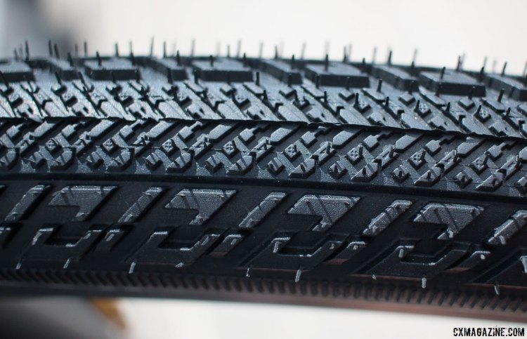 Vittoria's new TNT Tubeless Adventure Trail 700x38c gravel tire. © Cyclocross Magazine