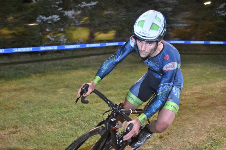 Justin Lindine enjoyed the non-pack racing course of Night Weasels