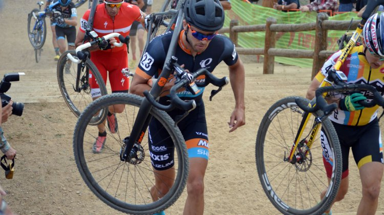Danny Summerhill (Maxxis-Shimano) took top honors at day two of the US Open of Cyclocross. © Ali Whittier