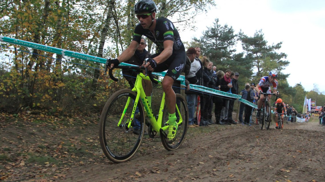 Sven Nys at Superprestige Zonhoven. © Bart Hazen