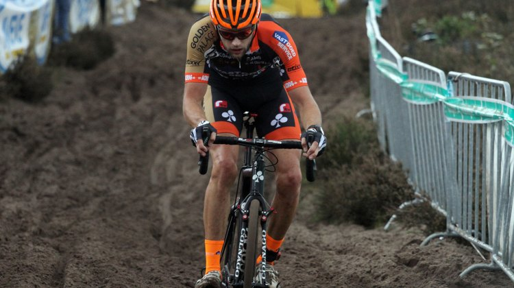 Rob Peeters rode an excellent race to finish second. © Bart Hazen