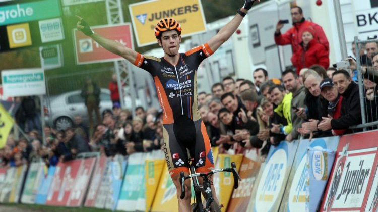 Van Aert took another victory today on the slopes of the Circuit de Spa-Francorchamps.