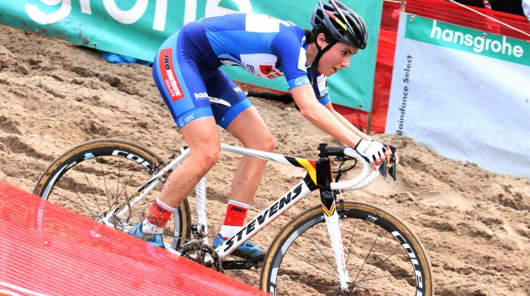 Sanne Cant at Superprestige Zonhoven. © Bart Hazen