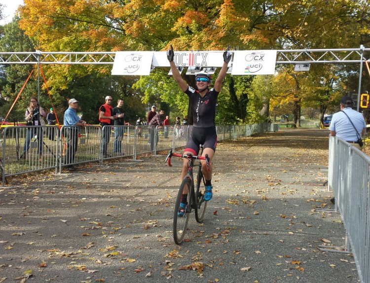 Cassie Maximenko repeated her day one performance with a win on day two of DCCX. © Neil Schirmer