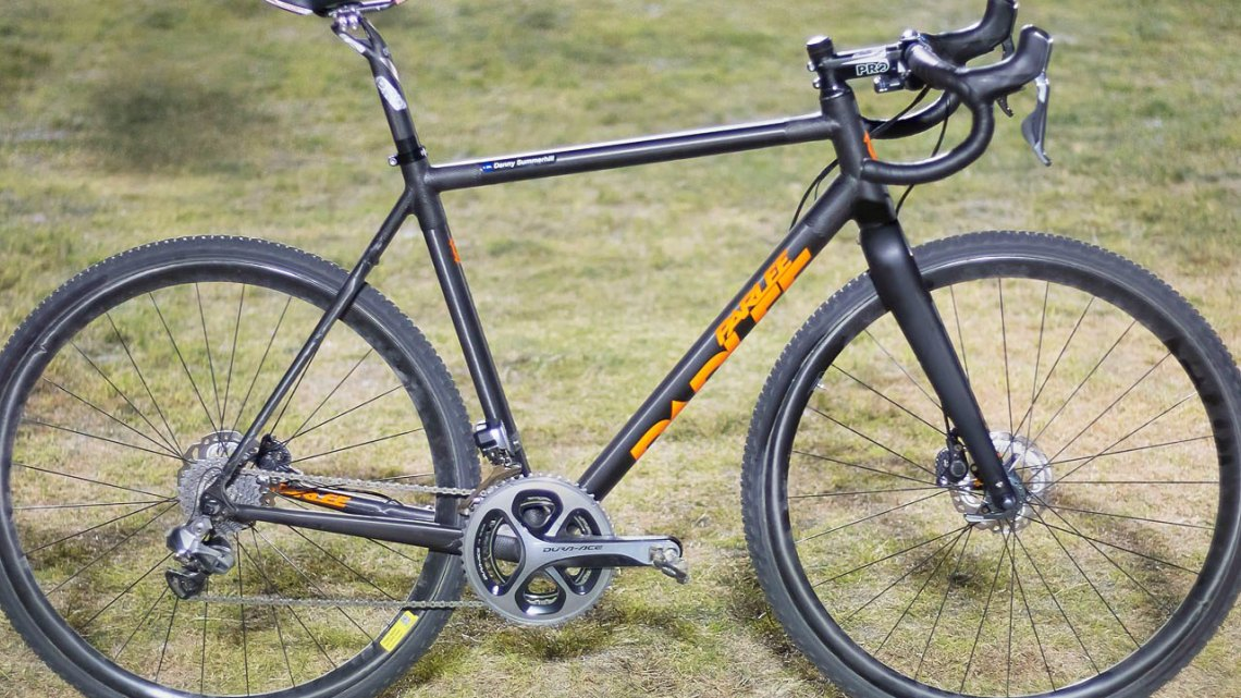 Danny Summerhill's Parlee Z-Zero XD on raceday at CrossVegas 2015. © Cyclocross Magazine