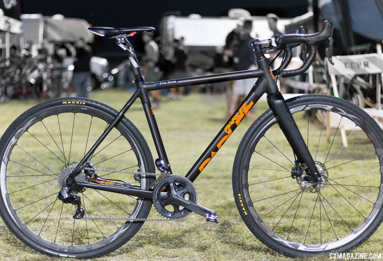 Erica Zaveta's Parlee Z-Zero XD on race day at CrossVegas 2015. © Cyclocross Magazine