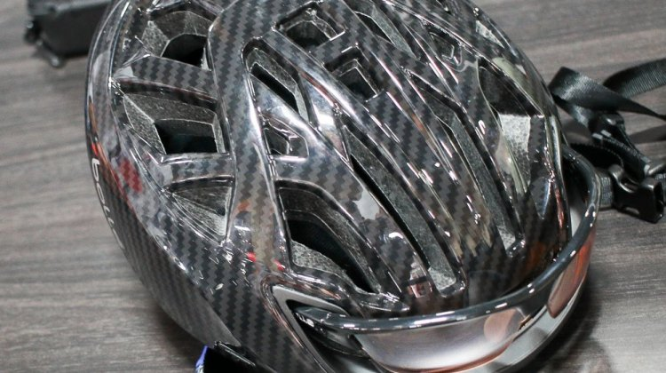 "Bolle's new ""The One"" helmet. © Cyclocross Magazine"