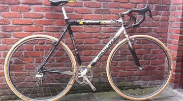 Ben Berden's Koksijde-winning Merckx Alu Cross. Photo Courtesy of Ben Berden