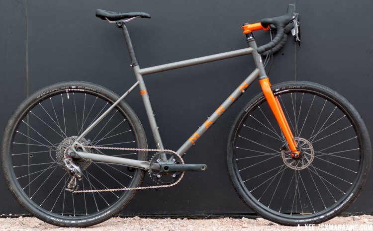2016 Marin Four Corners Elite bike. © Cyclocross Magazine