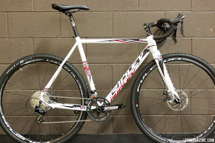 Ridley's Aluminum cyclocross race bike, the X-Ride 30 retails for $1650. © Cyclocross Magazine