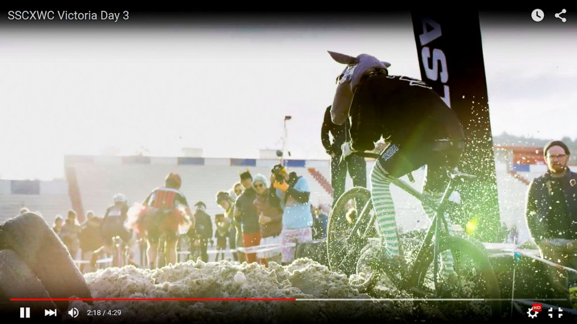 2015 SSCXWC singlespeed worlds video, Victoria.
