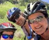 Dr. Grossfeld supports youth cycling when not seeing patients or riding with her family.