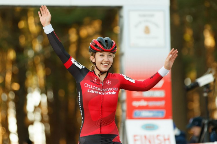 White wins day two of the NBX Gran Prix of Cyclo-cross. © Todd Prekaski