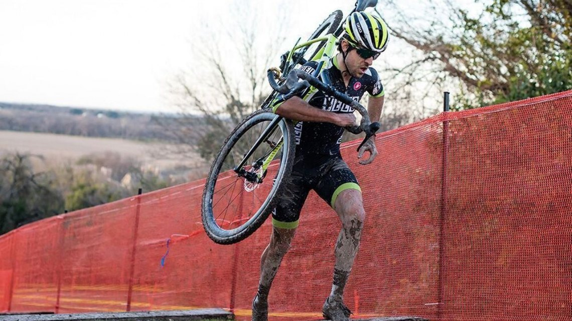 Jeremy Durrin at Highlander Cross Cup, day 1. © Bo Bickerstaff