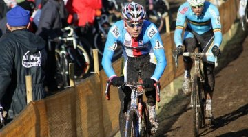 Stybar and Nys at 2011 Cyclocross World Championships at St. Wendel