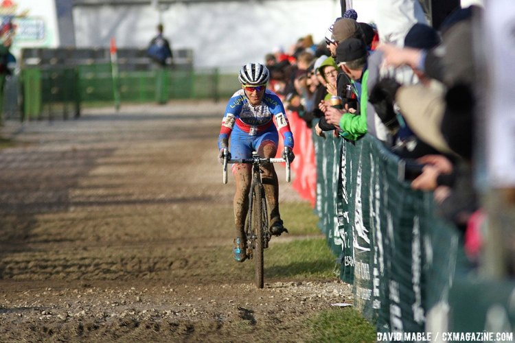 Multi-time World Cup winner Katerina Nash took the victory on days two and three of Jingle Cross. © David Mable