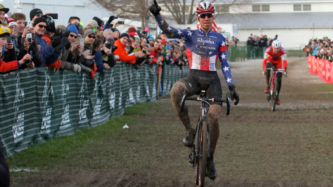 No stranger to Jingle Cross success, will Jeremy Powers be able to continue his hot streak if Jingle Cross makes it to the World Cup circuit? © David Mable