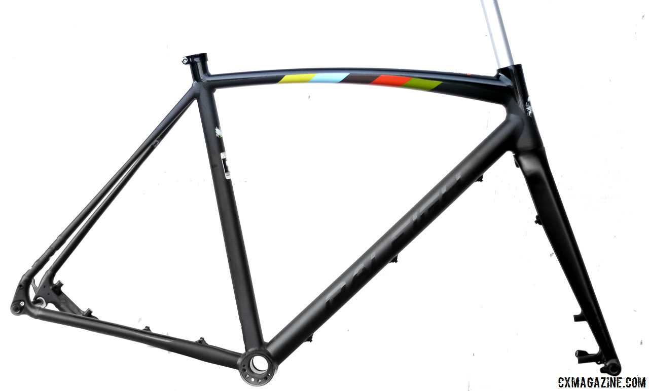 raleighs 2015 sscxwc singlespeed cyclocross frame is available now with thru axles an eccentric bottom
