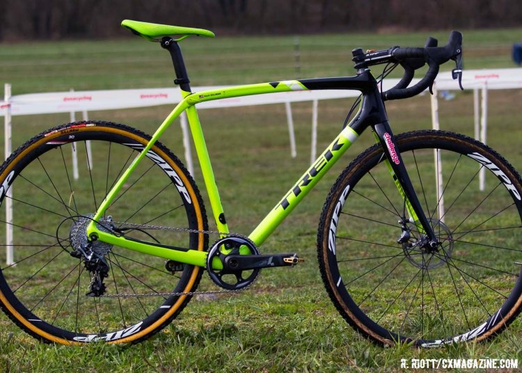 Andrew Dillman's 2016 D1 Collegiate Men Nationals-winning Trek Boone 9 Disc. © Cyclocross Magazine