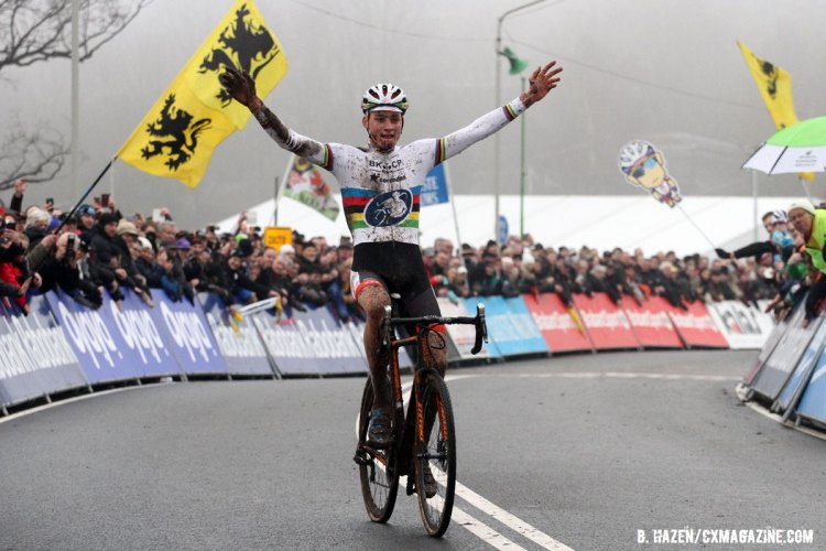 Four World Cup wins in his last four World Cup starts for the World Champion. 2016 World Cup Hoogerheide. © Bart Hazen