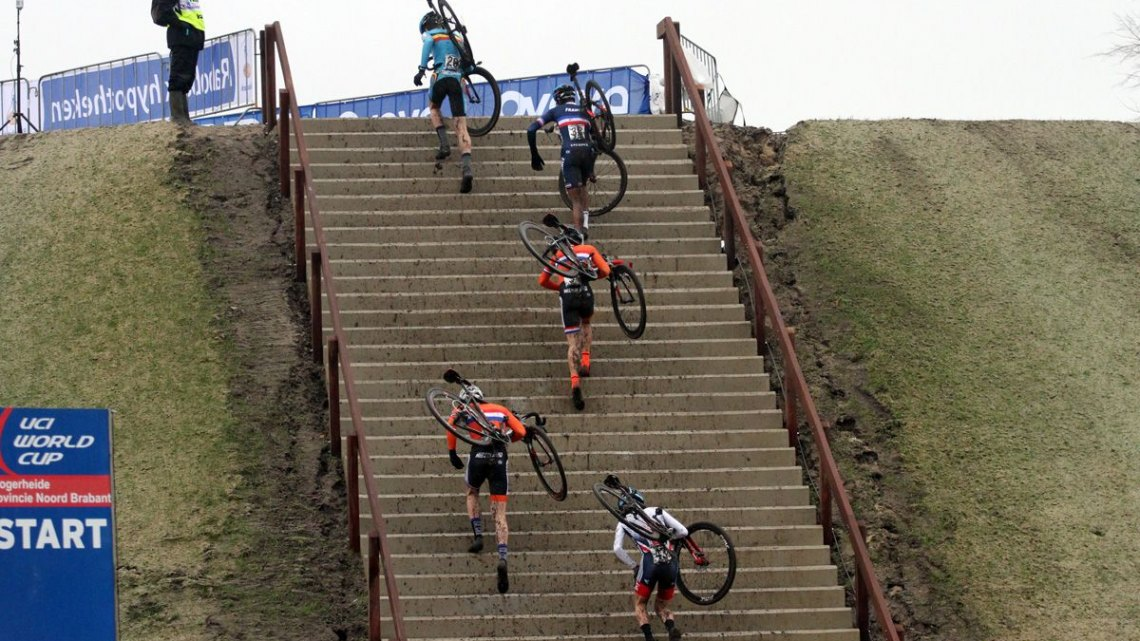 The new feature at Hoogereide everyone was talking about. 2016 World Cup Hoogerheide. © Bart Hazen