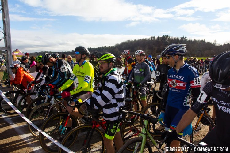 Singlespeed Men's start line
