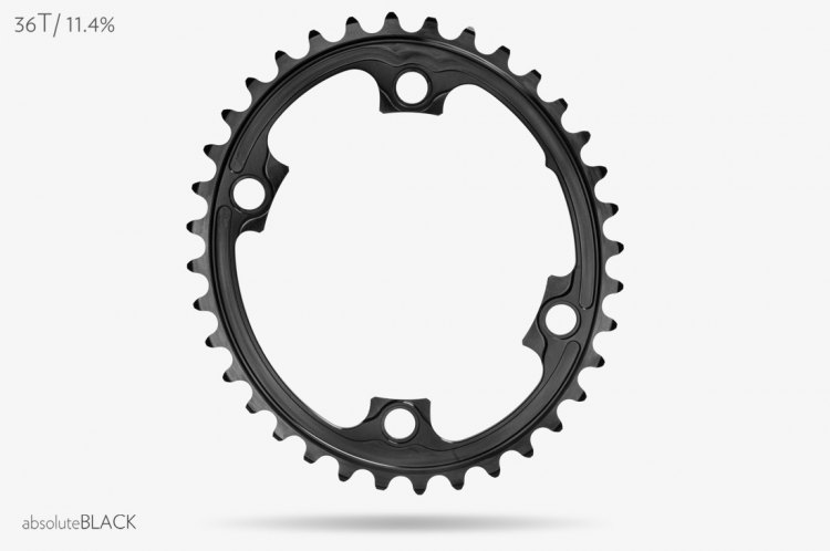 Absoluteblack's new Road Oval chainrings. Photo courtesy: Absoluteblack