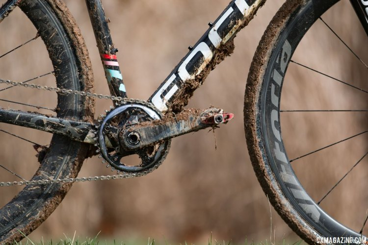 Ellen Noble's Focus Mares 2016 Cyclocross National Championships bike. © Cyclocross Magazine