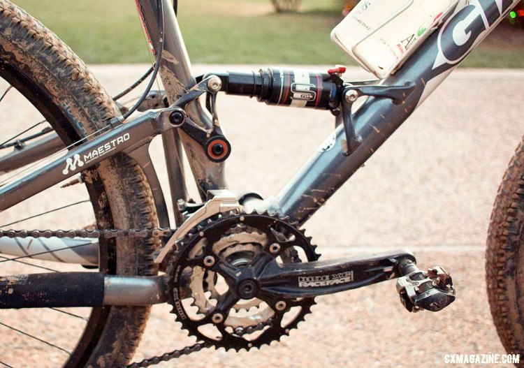 The Maestro moniker is still being used on the current-year Anthem suspension linkage, although the linkage itself has been totally redesigned. © Cyclocross Magazine