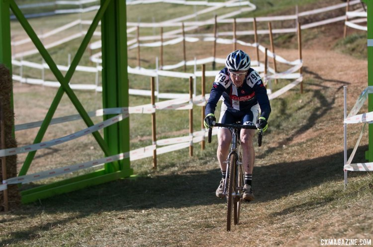 Randy Root took a hard-fought victory after a last lap battle with Smith. © Cyclocross Magazine © Cyclocross Magazine