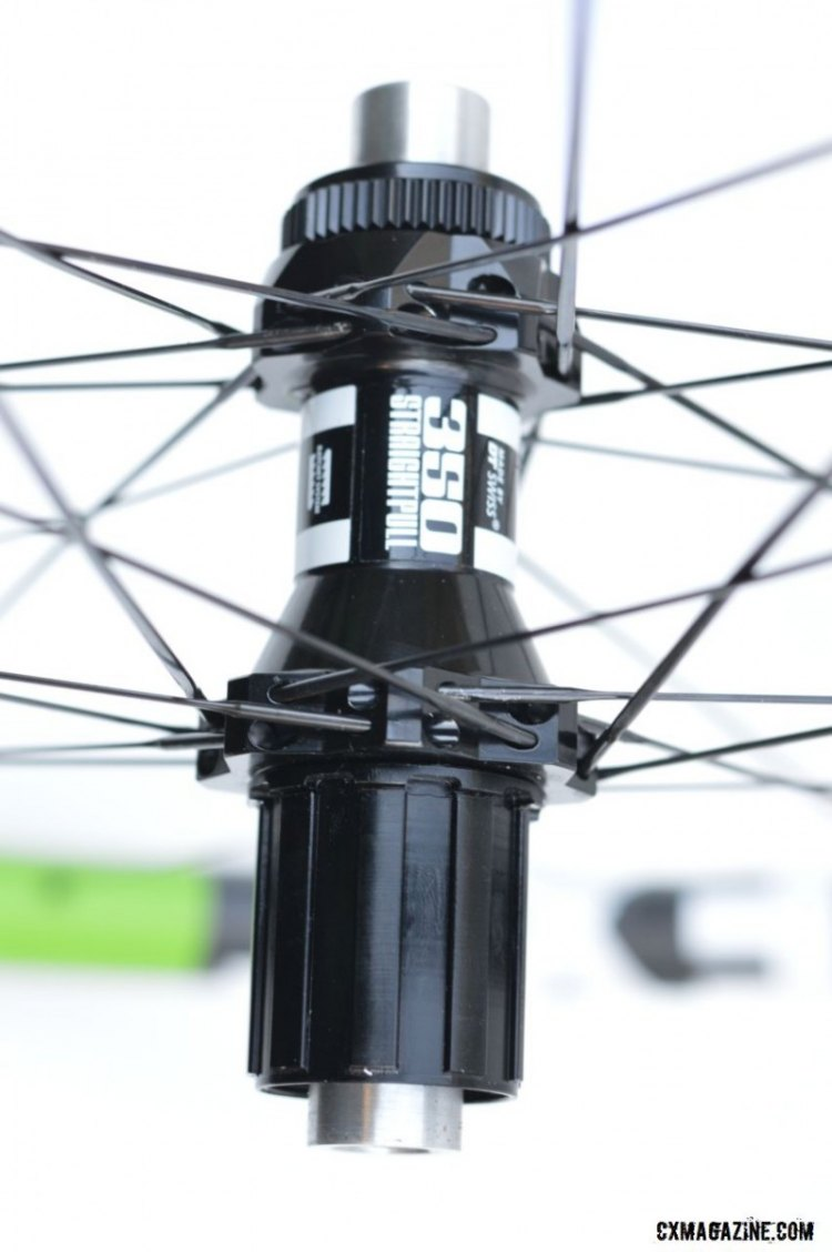 NEXT wheels offers a way for riders to convert hubs for use with Specialized's SCS system frames. © Cyclocross Magazine