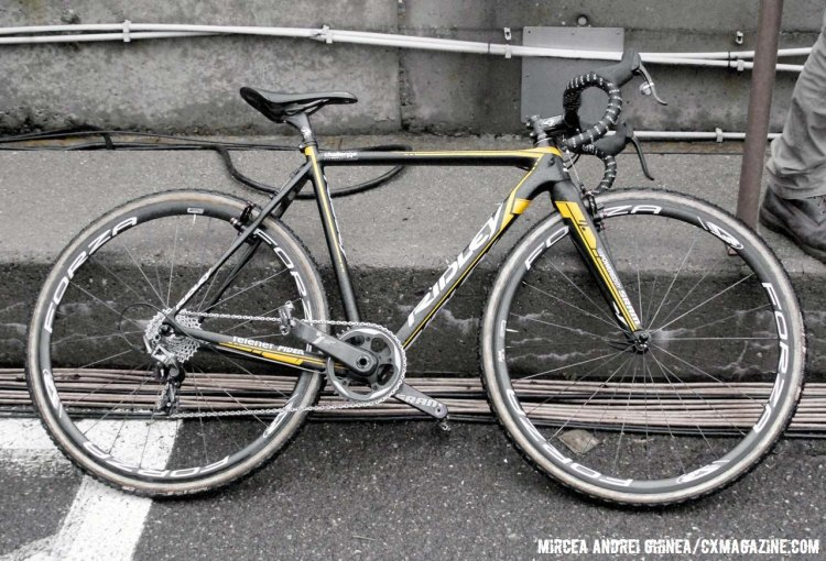 Eli Iserbyt's U23 World Championship-winning Ridley X-Night in the Telenet Fidea team colors. © Cyclocross Magazine
