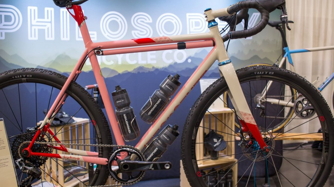 Philosophy Bicycle Co. NAHBS 2016. © Cyclocross Magazine