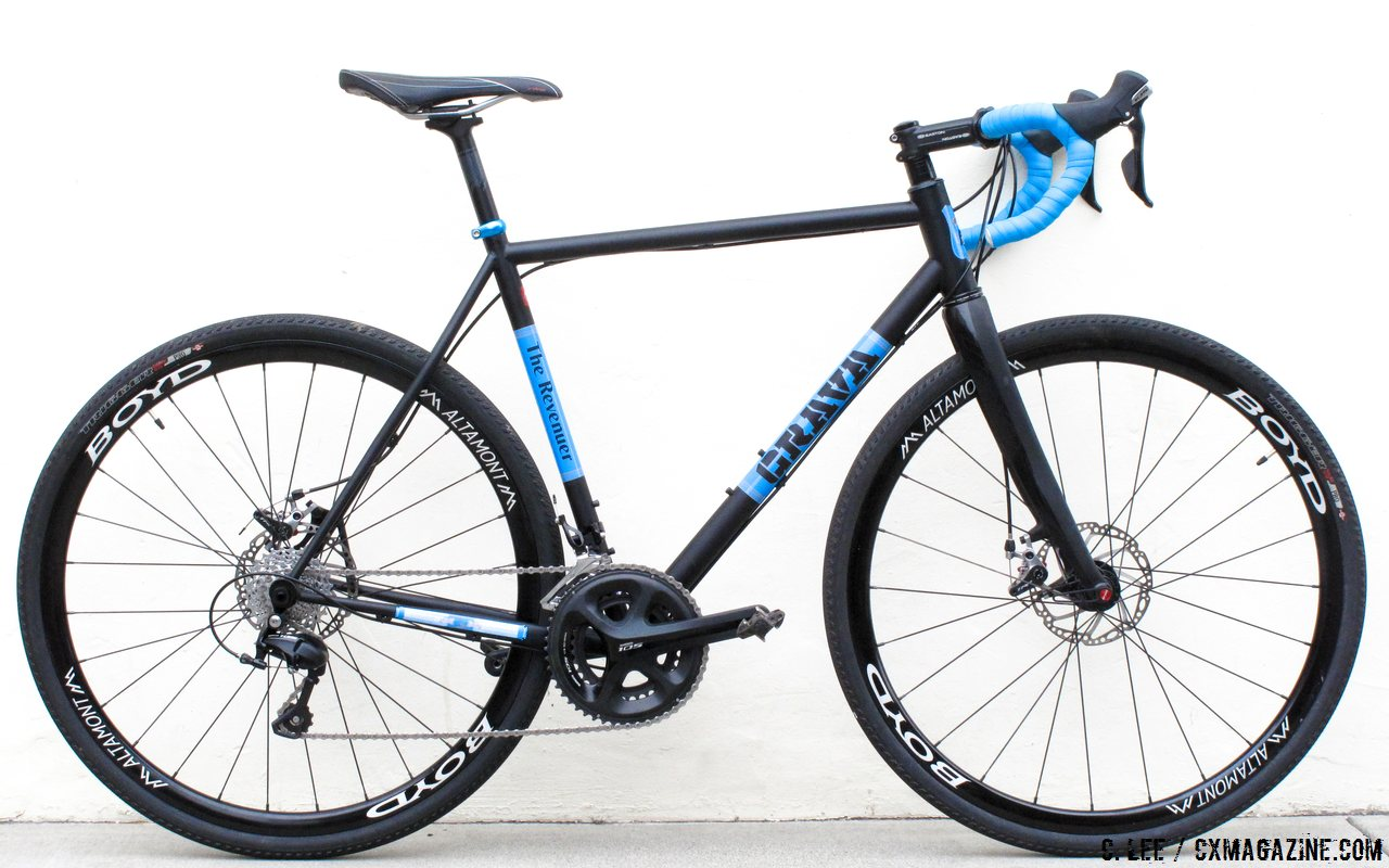 In Review: Grava Bike\'s The Revenuer Steel Gravel / CX bike