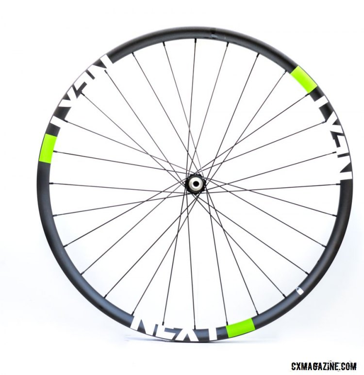 NEXT wheels complete wheels, with or without their SCS conversion kit, are built around a carbon rim that should be good for tubeless conversion. © Cyclocross Magazine