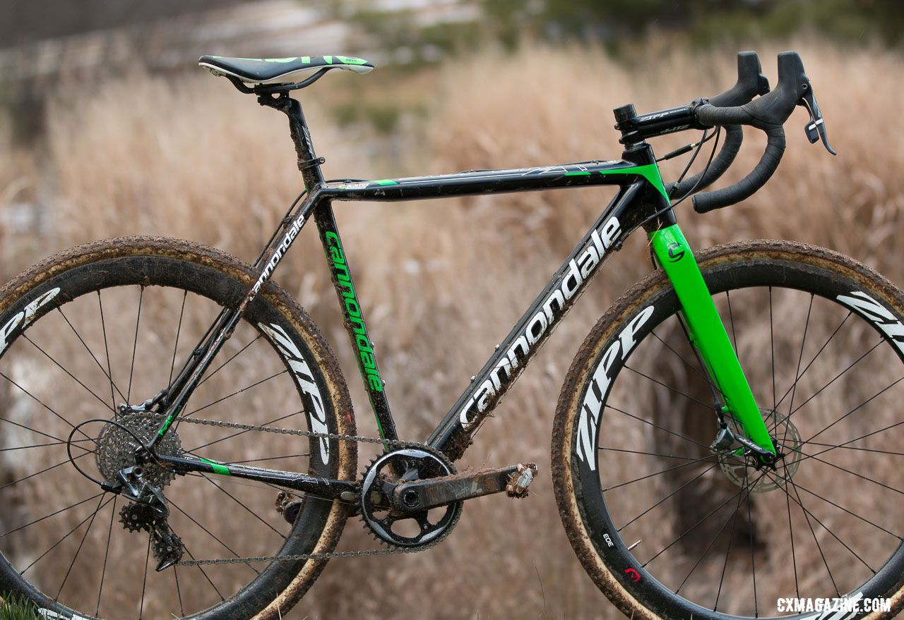 ccdea94dd42 Stephen Hyde's Cannondale Super-X with Zipp 303 tubulars, SRAM Force 1, and