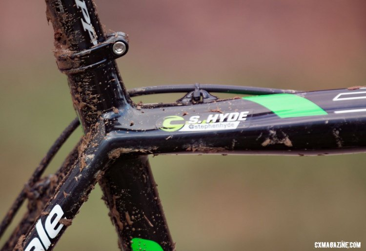 Stephen Hyde's Cannondale Super-X. 2016 Cyclocross Nationals. © Cyclocross Magazine