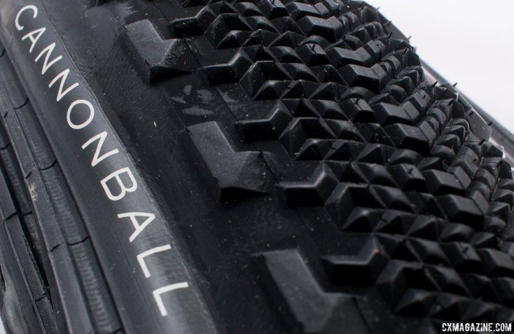 Teravail's new Cannonball 38c gravel tire features a tubeless bead casing and tips the scales at 510g . © Cyclocross Magazine