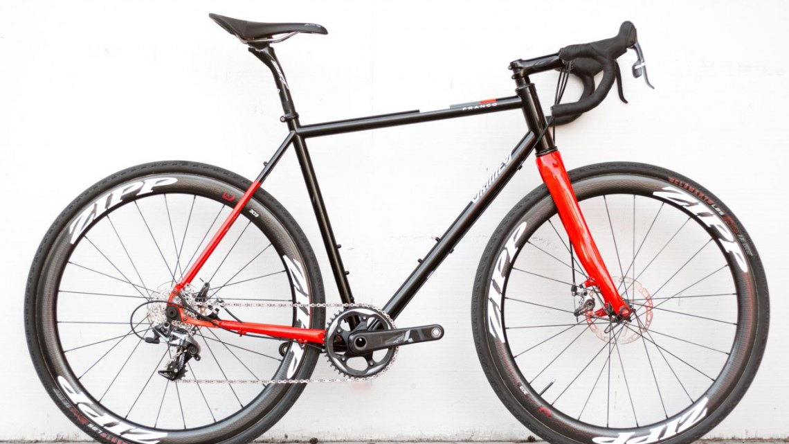 Franco Bicycles' steel Grimes cyclocross/gravel bike. © Cyclocross Magazine