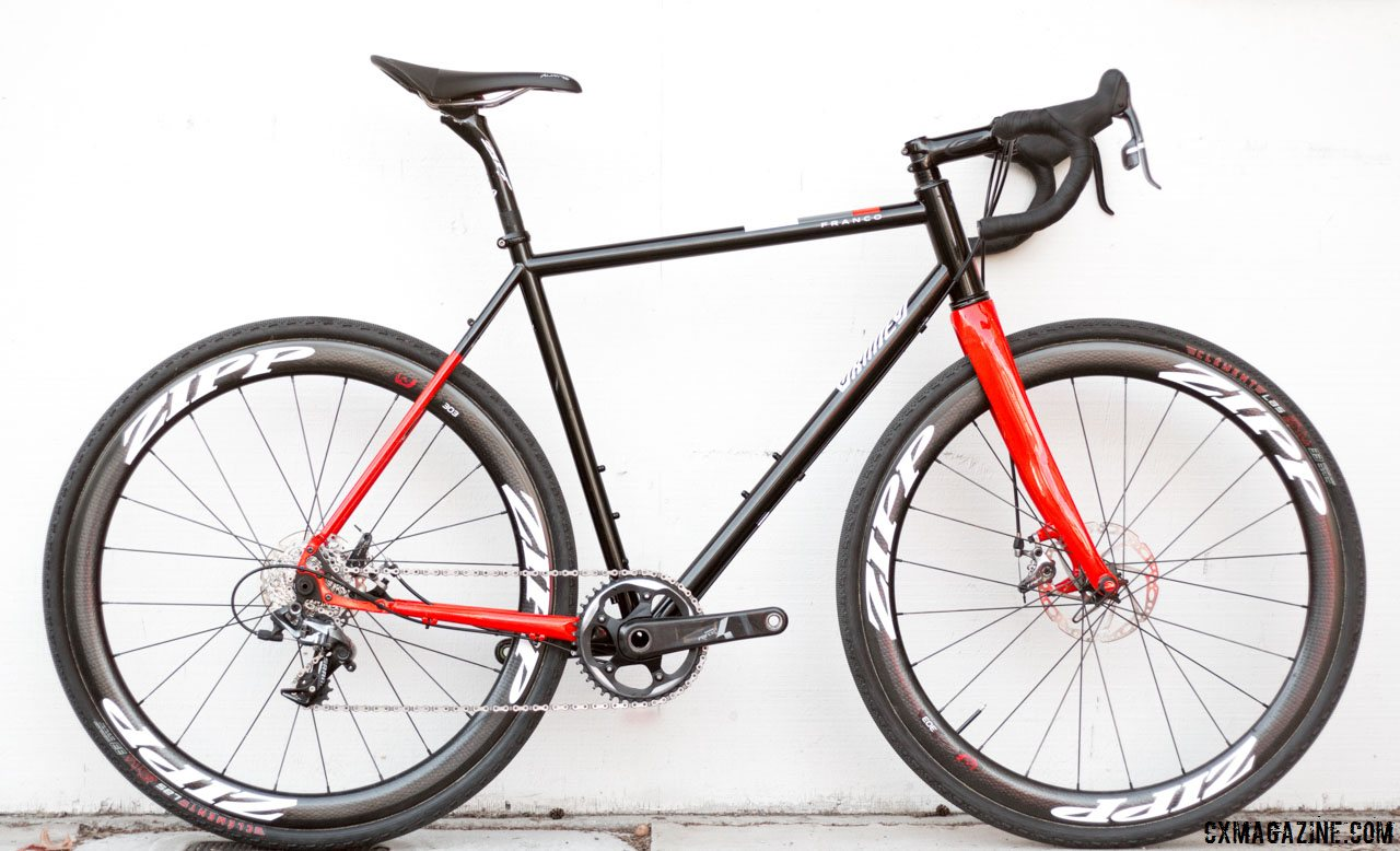 Handmade, In Review: Franco Grimes Steel Cyclocross Bike
