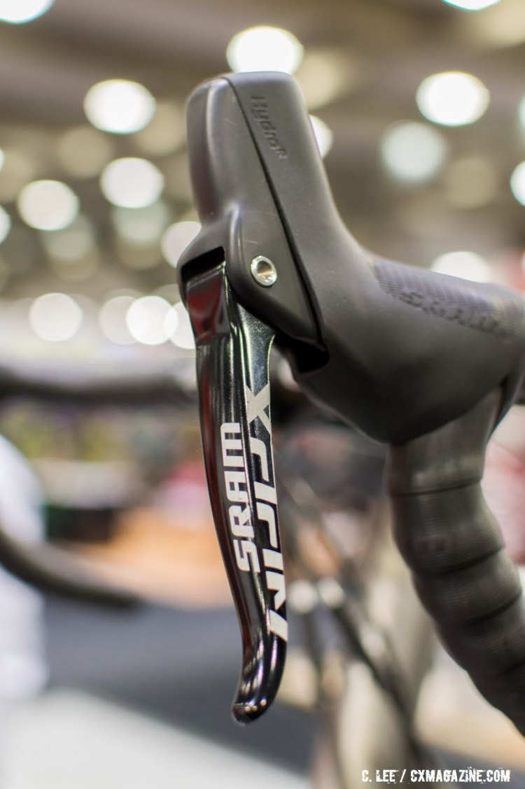 SRAM's new Apex 1 hydraulic kit. NAHBS 2016. © Clifford Lee / Cyclocross Magazine