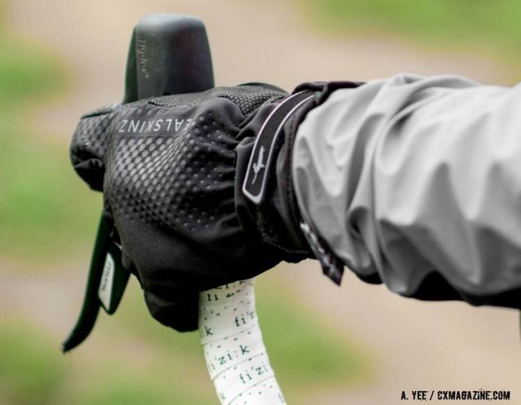 SealSkinz also offers the All Weather Cycle XP waterproof glove. © Cyclocross Magazine