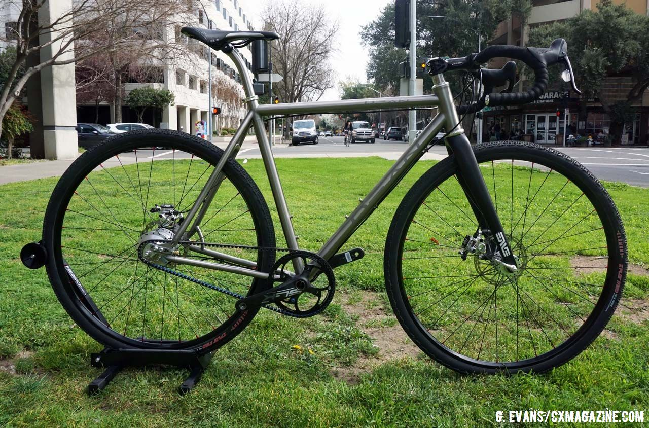 NAHBS Bike: Dean's Fully Custom Torreys Belt Drive Gravel ... Custom Built Bicycle