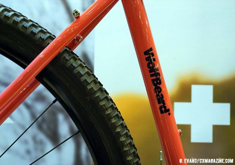 All of Matter Cycles' bikes feature a model-name and icon somewhere on the frame. © Greg Evans/Cyclocross Magazine