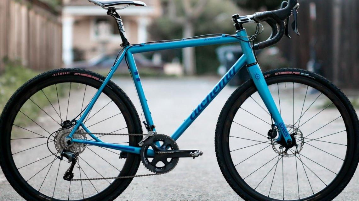 Alchemy Konis handmade steel cyclocross / gravel bike. © Cyclocross Magazine